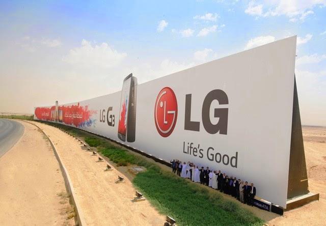 Największa reklama naświecie - rekord Guinessa