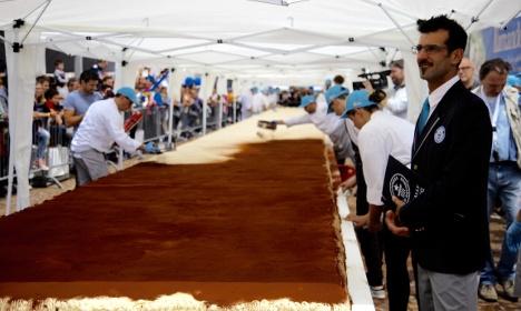 Największe tiramisu - rekord Guinessa