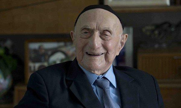 Izrael Kryształ - najstarszy człowiek świata