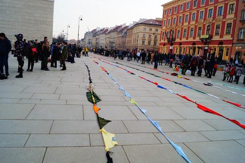 Najdłuższy łańcuch zchust - rekord Polski