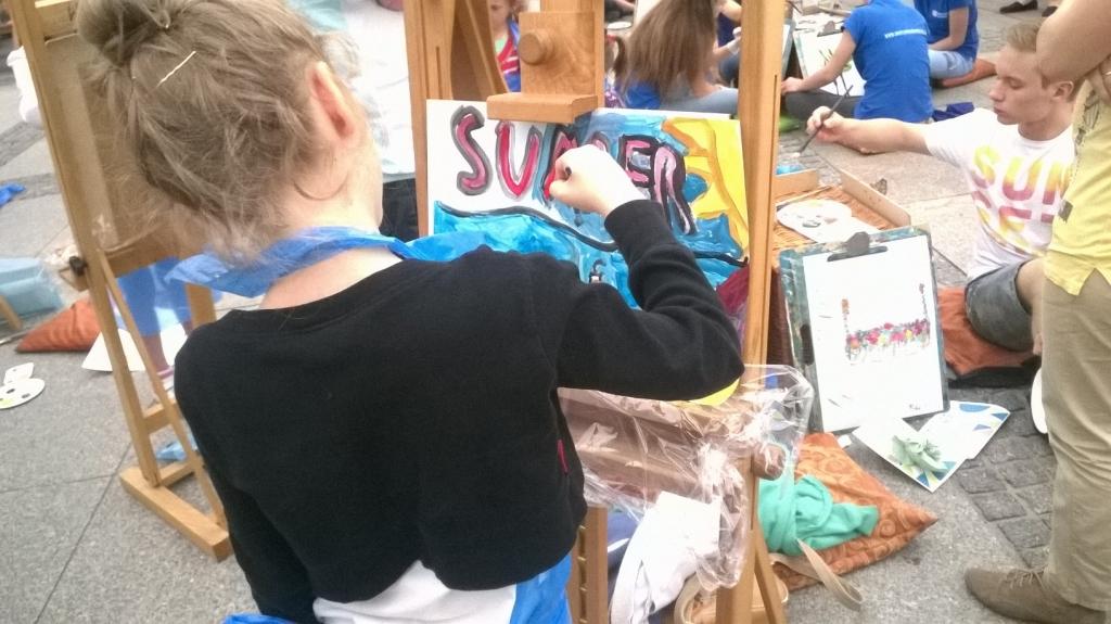 Największe warsztaty malowania obrazów - rekord Polski