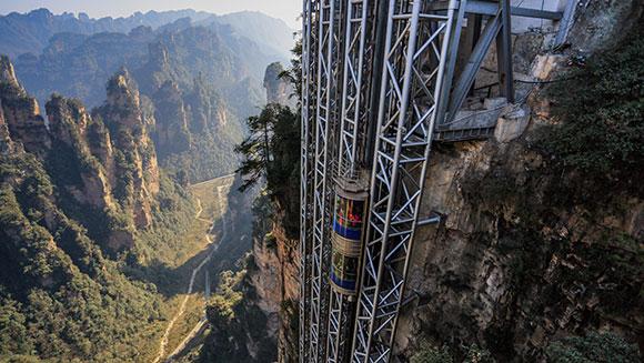 Najwyższa winda świata