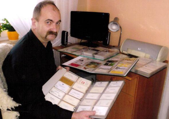 Największa kolekcja wizytówek - Rekord Polski