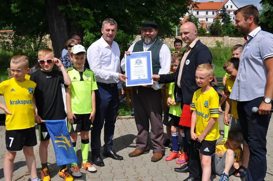 Skręcanie sznura- rekord Polski