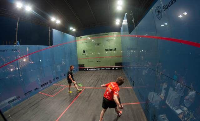 Squash - rekord Guinessa