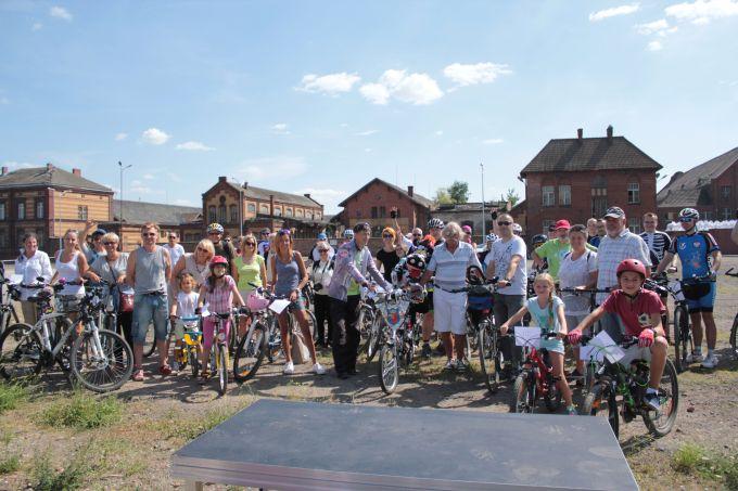 Największa orkiestra dzwonków rowerowych - rekord Polski