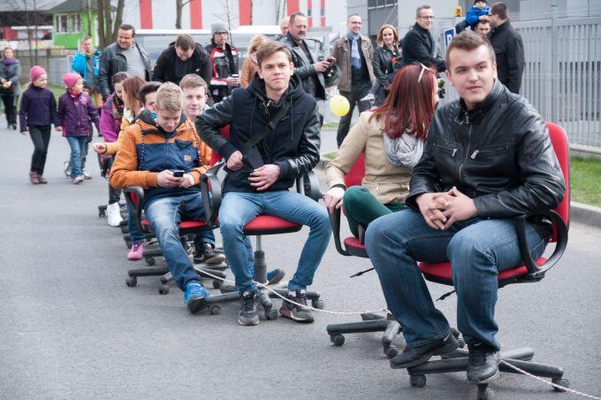 Fotele biurowe - rekord Polski