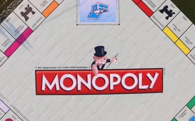 Największa gra planszowa Monopoly - rekord Guinnessa