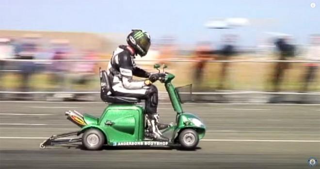 Najszybszy skuter inwalidzki - rekord