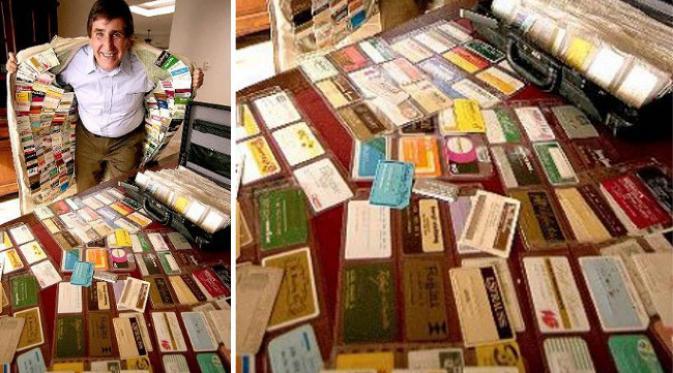 Największa ilość kart kredytowych