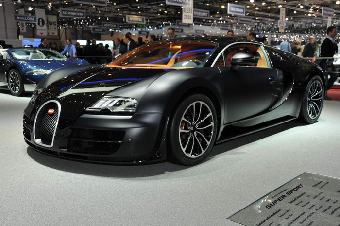 Najdroższy samochód świata - 4 - Bugatti Veyron