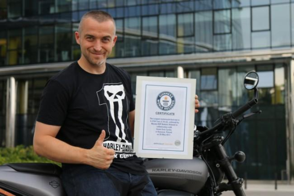 Maciej DOP Bielicki - Rekord Guinnessa