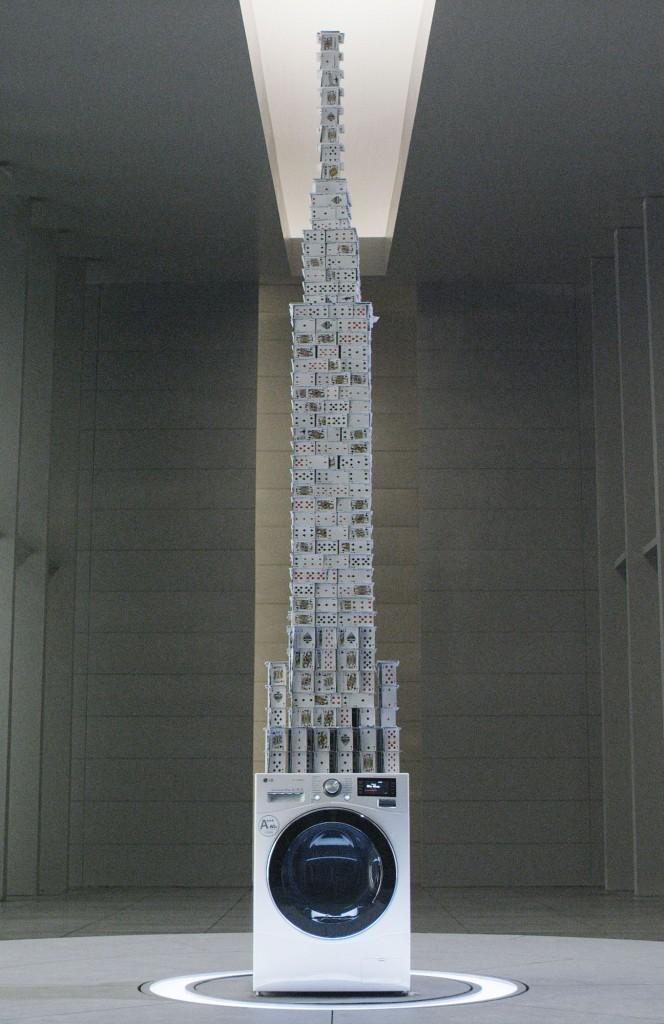 Najwyższy domek zkart - rekord