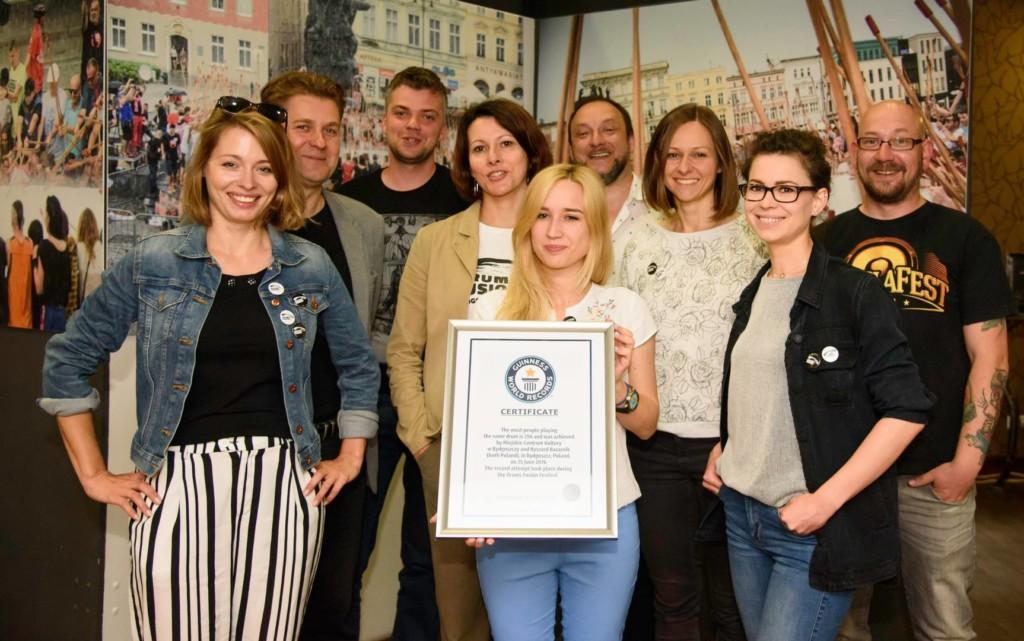 Bydgoszcz - oficjalny certyfikat Guinnessa