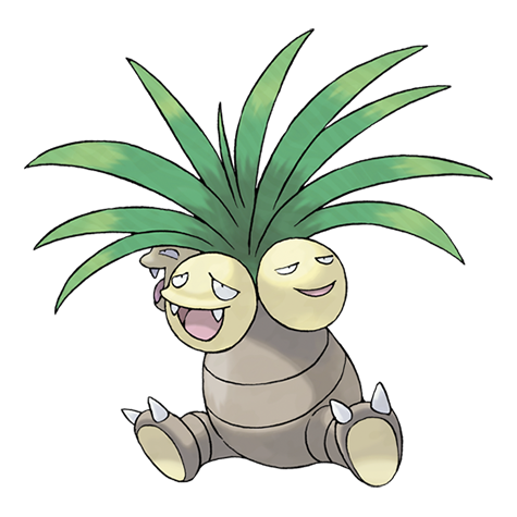Exeggutor - pokemon