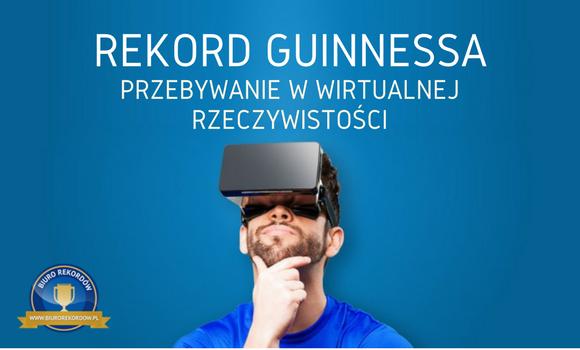 Rekord Guinnessa - VR