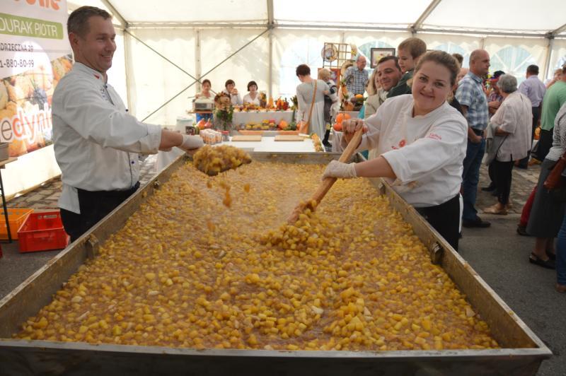 Największy dżem zdyni - rekord Polski