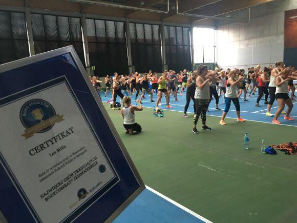 Najwięcej osób trenujących Bodycombat jednocześnie - Rekord Polski