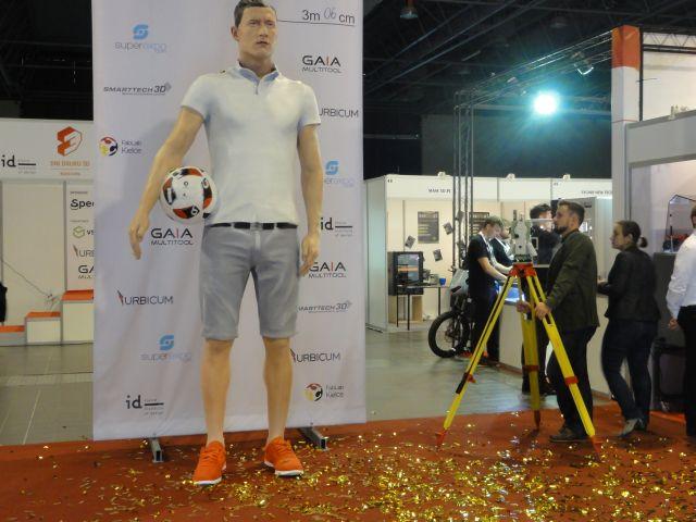 Największa rzeźba człowieka wydrukowana w3D