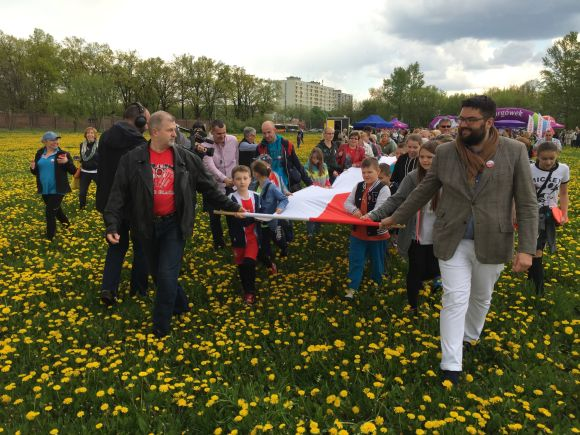 Najdłuższa flaga Polski - rekord