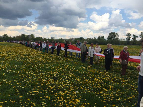 Najdłuższa flaga Polski