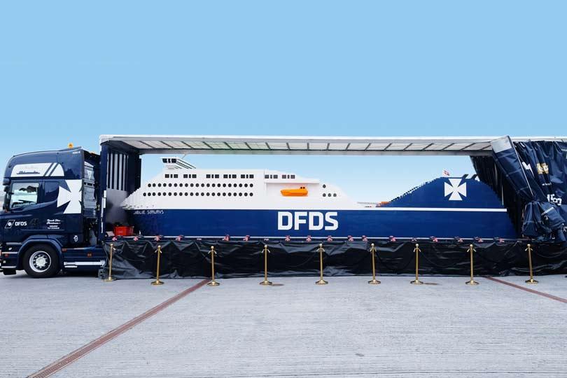 Największy statek LEGO