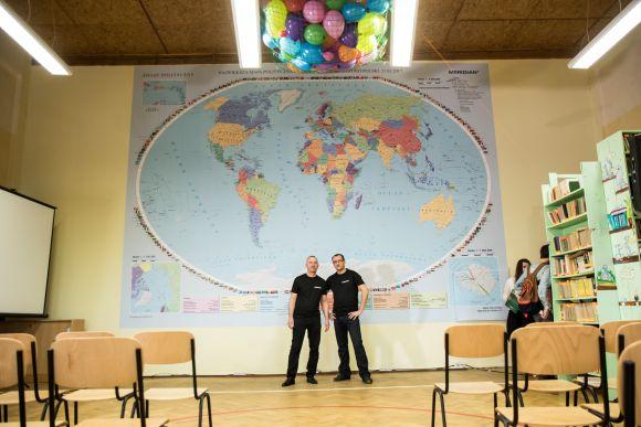 Największa mapa świata - Rekord Polski