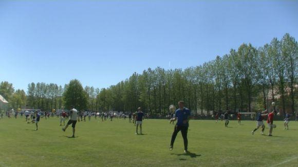 Podbijanie piłki nożnej - Rekord Polski