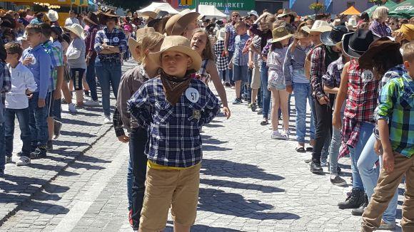 Taniec country - Rekord Polski