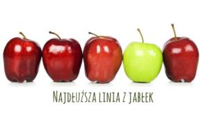 Najdłuższa linia z jabłek