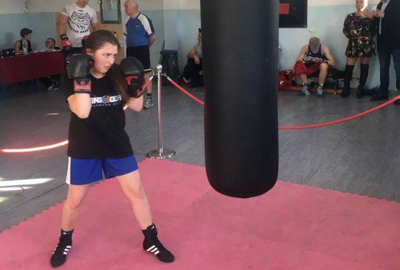 Rekord Polski wuderzaniu wworek bokserski