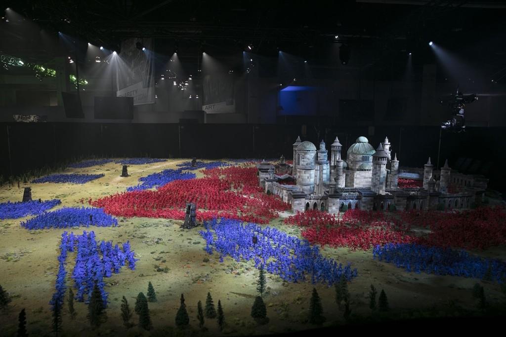Wydrukowana diorama
