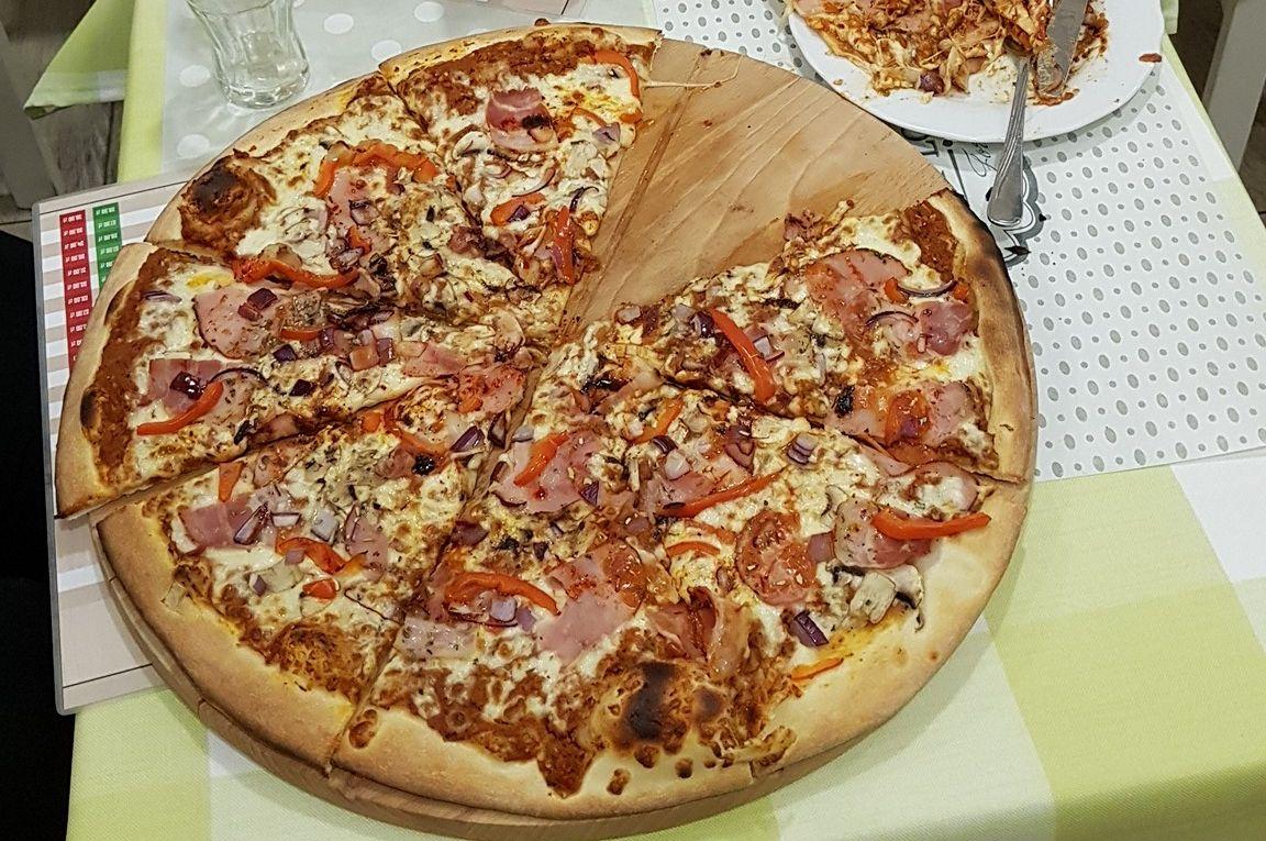 Najostrzejsza pizza - Rekord Polski