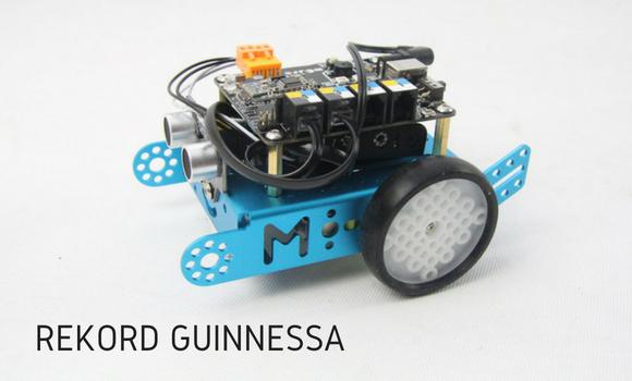 Rekord Guinnessa - lekcja robotyki