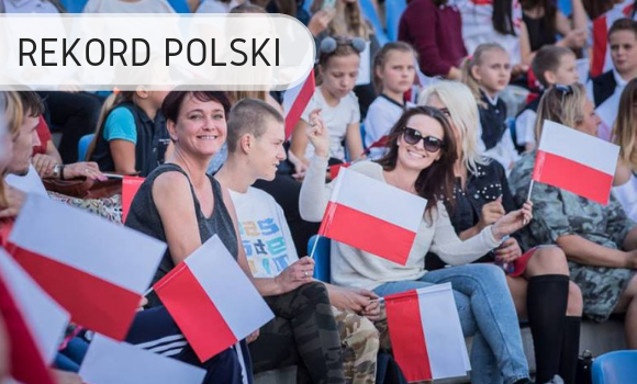 Rekord Polski - flagi