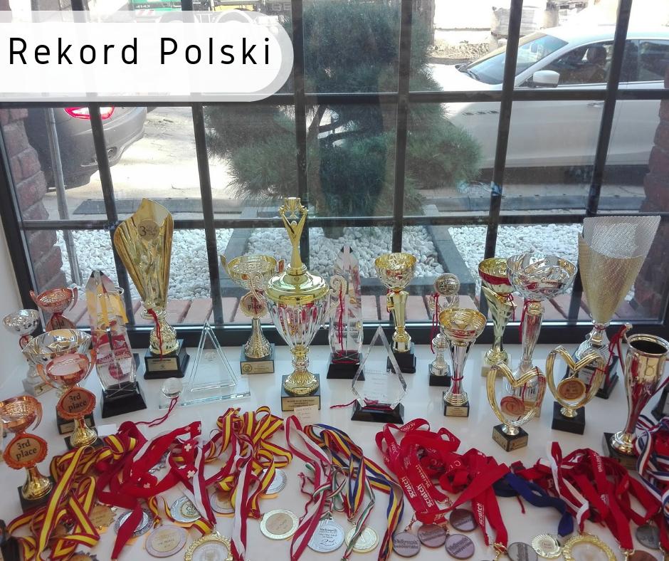 największa kolekcja medali rekord polski łódź