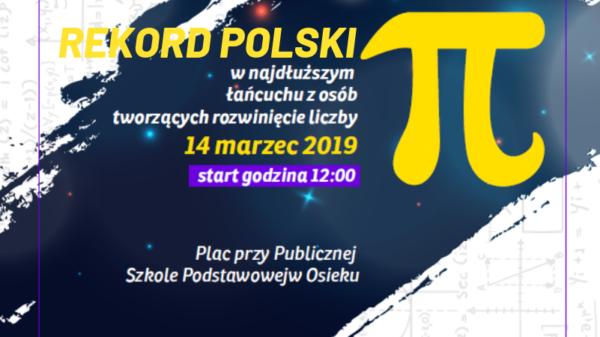 Osiek - Rekord Polski - Liczba Pi