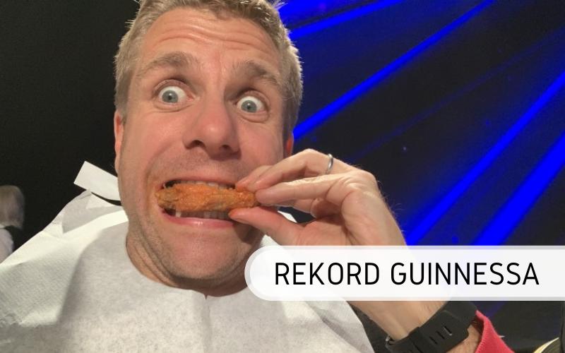 Rekord Guinnessa - największe zawody w jedzeniu skrzydełek kurczaka