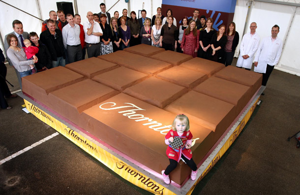 Największa czekolada świata