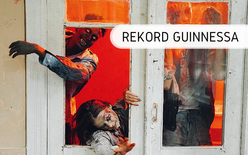 Rekord Guinnessa - dom strachów