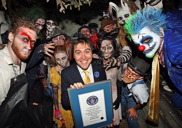 Dom strachów - rekord Guinnessa