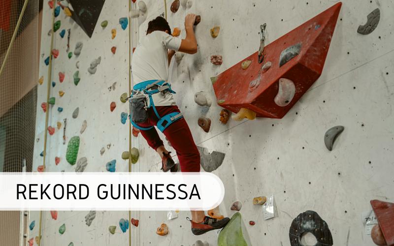 Rekord Guinnessa - najwyższa ścianka wspinaczkowa