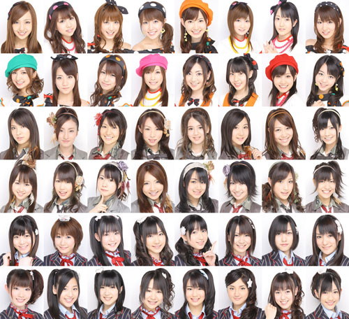 AKB48 - zdjęcia dziewczyn