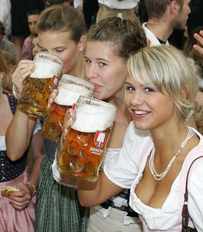 Piwo - dziewczyny