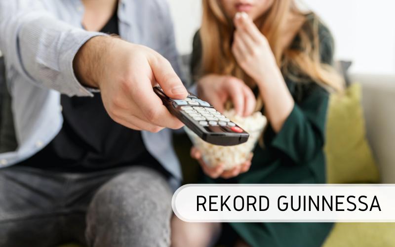 Rekord Guinnessa - Maraton oglądania telewizji
