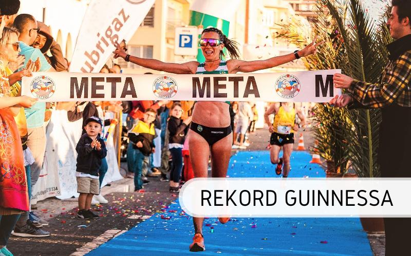 Rekord Guinnessa - najwięcej maratonów przebiegniętych przez kobietę w rok