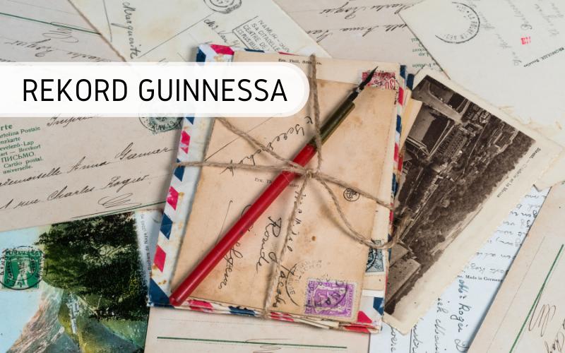 Rekord Guinnessa - największa pocztówka
