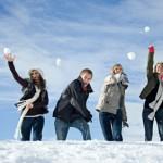 Największa bitwa na śnieżki