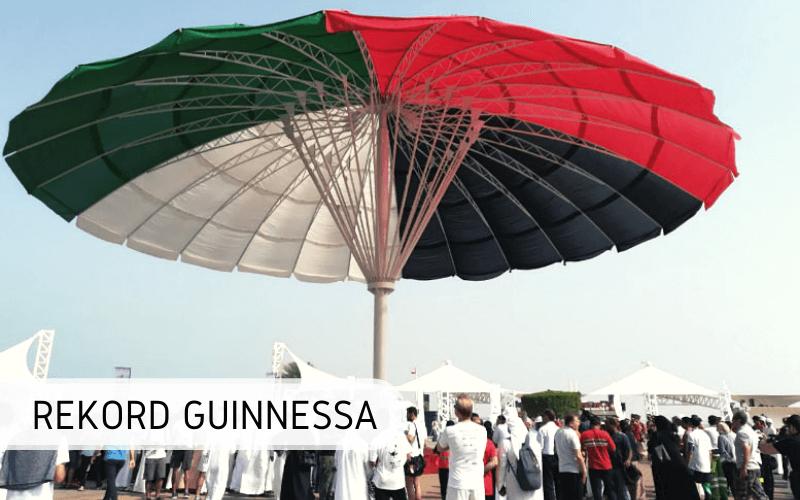 Największy parasol naświecie