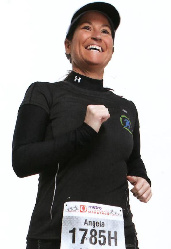 rekord guinnessa - najwiecej maratonow kobieta